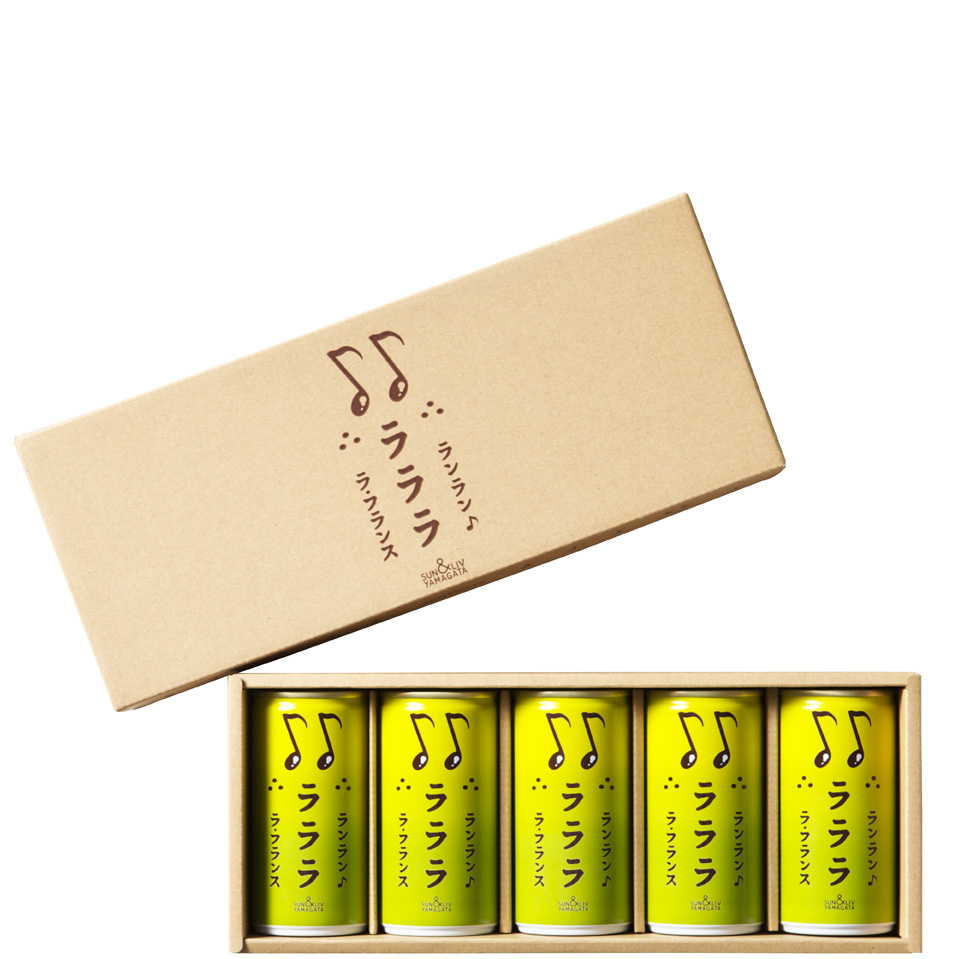 ランラン ラララ ラ・フランス詰合せ5缶セット