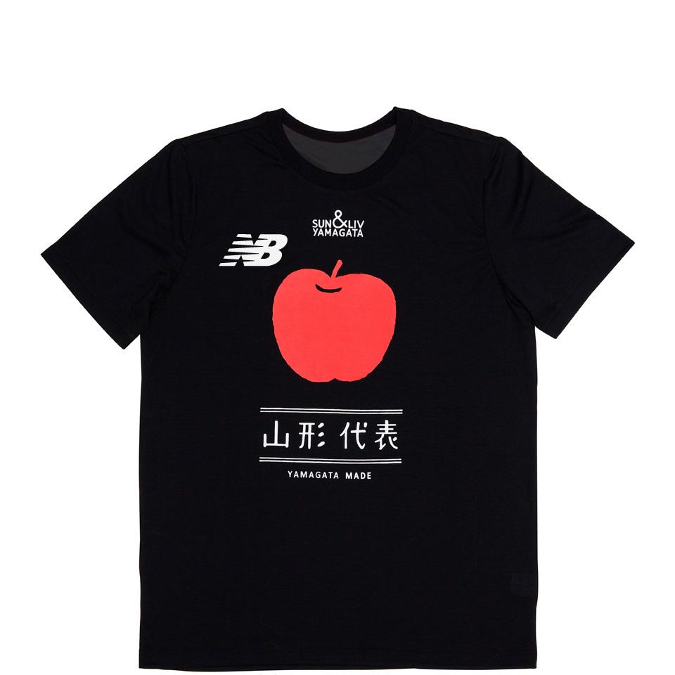 山形代表りんごTシャツ