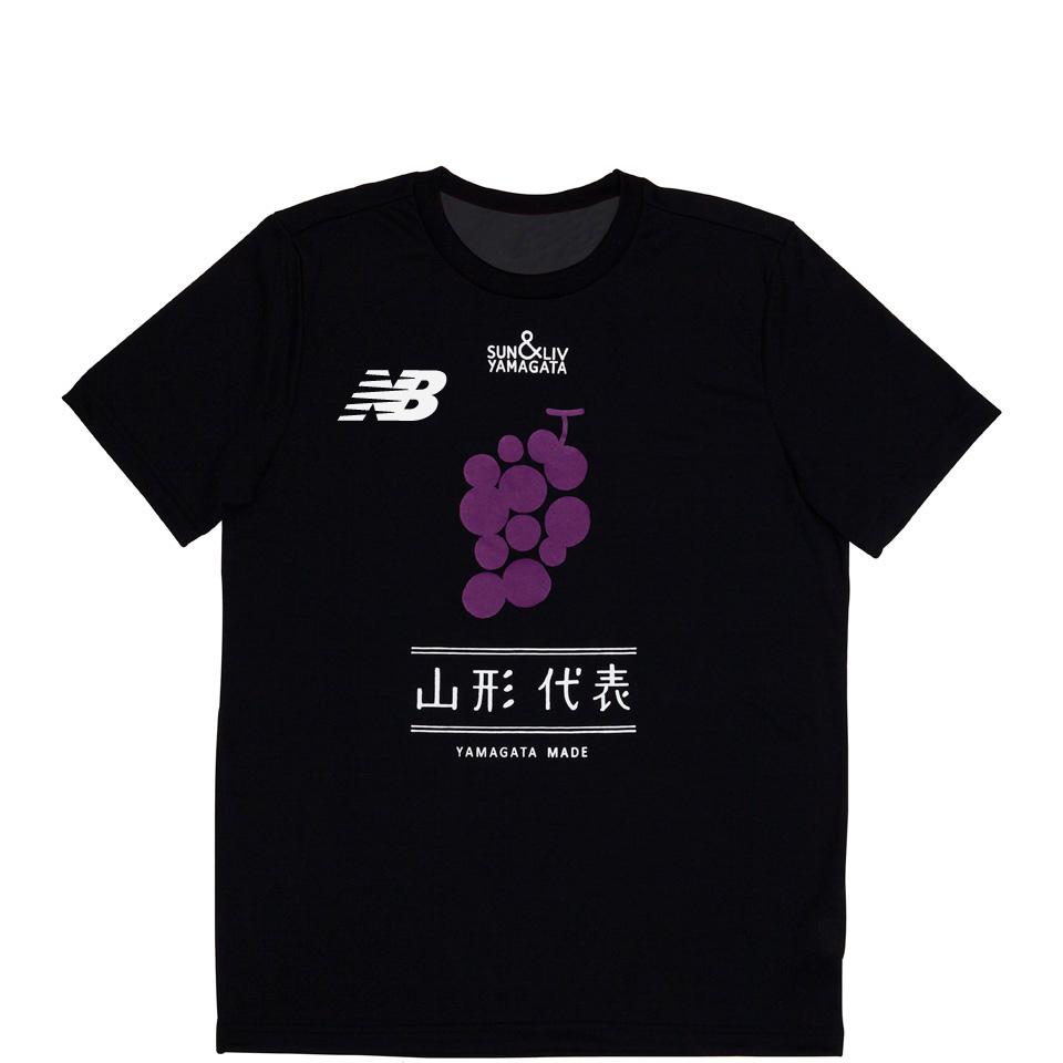 山形代表ぶどう(赤)Tシャツ