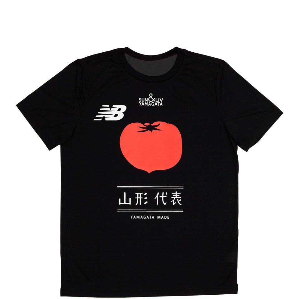 山形代表とまとTシャツ